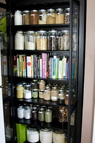 Jar Pantry by Pantry With Glass Jar Storage Pantry Organization