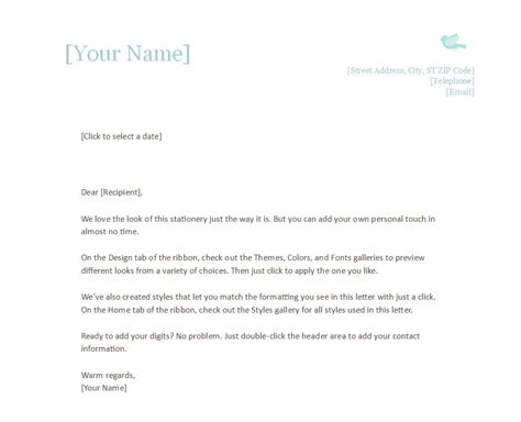 Reference Letter On Letterhead Best Photos Of Personal Letter Template Word Personal