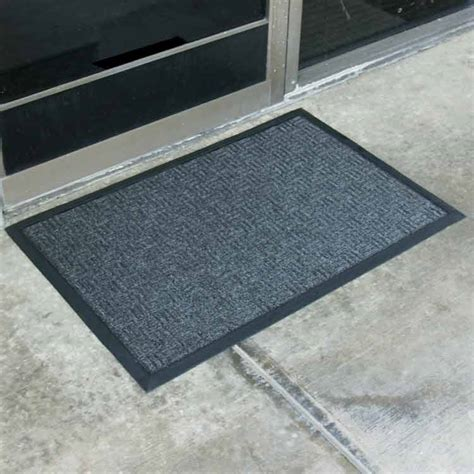 quot wellington quot rubber backed carpet mats