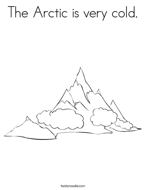arctic coloring page free coloring pages of arctic animals