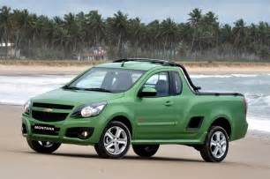 2011 chevrolet montana compact truck unveiled in south america