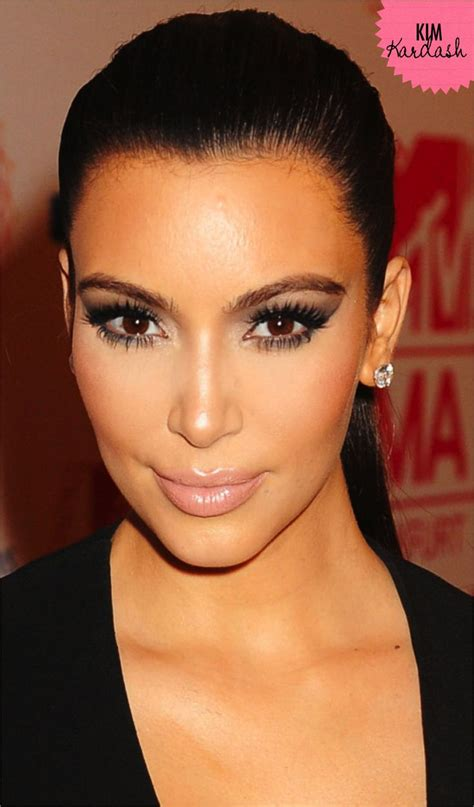an unhealthy obsession on pinterest kim kardashian lashes and kim kardashian make up celebrity makeup hair