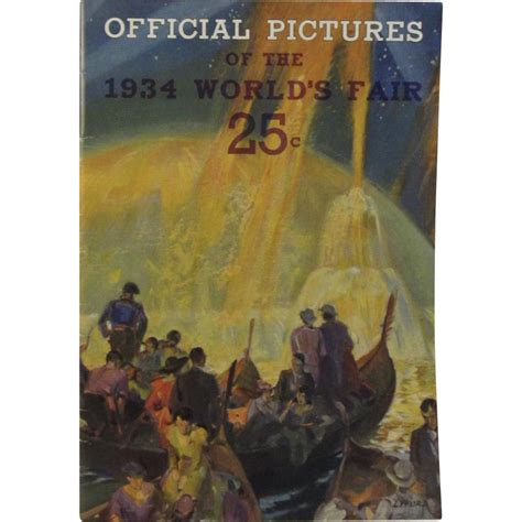 chicago book pictures official view book 1934 chicago world s fair from