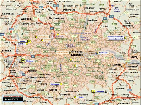 map of greater area uk map of greater area uk map of greater area