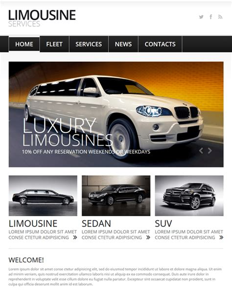 28 Of The Best Car Vehicle Automotive Joomla Templates Down Joomla Automotive Template