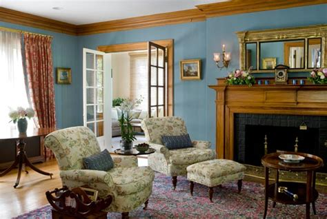 colonial living room rethinking a colonial revival interior old house online old house online