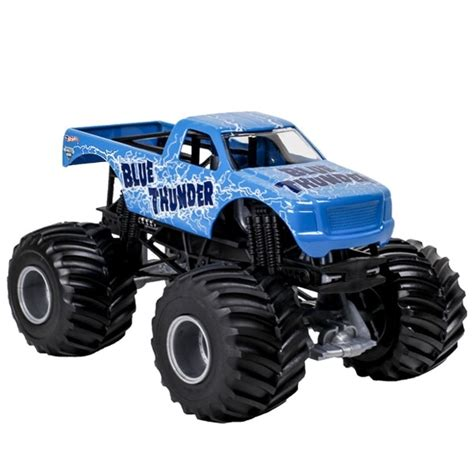 1 24 Wheels Blue Thunder Truck