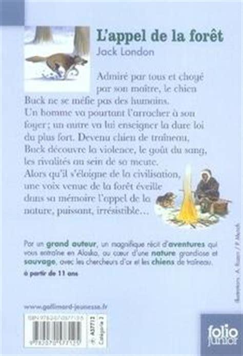 Resume L Appel De La Foret by Livre L Appel De La For 234 T Acheter
