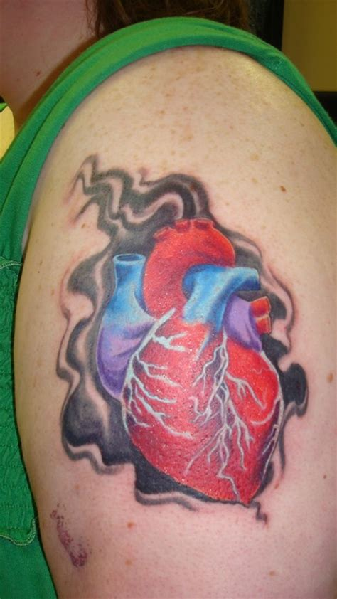 anatomically correct heart tattoo anatomically correct i so tattoos
