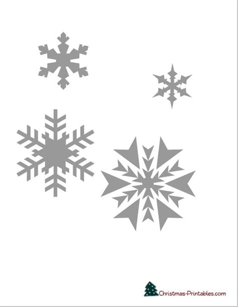 free printable frozen snowflakes snowflake printable stencils to use for decorating cake