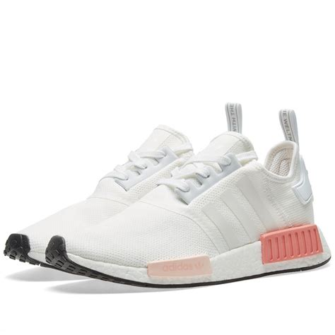 adidas originals nmd  primeknit runner boost damen weiss