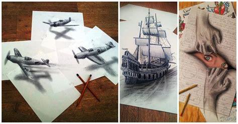 imagenes en 3d impresionantes 15 dibujos espectaculares en 3d que te dejar 225 n perplejo