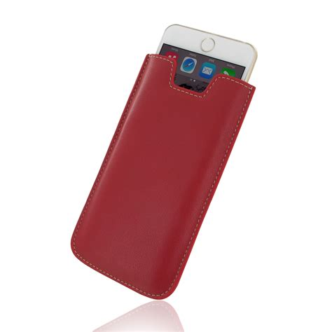 iphone 6 6s plus leather sleeve pdair sleeve pouch holster