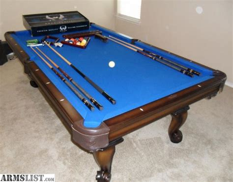 armslist for sale olhausen sonoma pool table 8ft