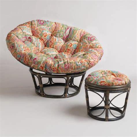papasan chair cushion world market venice papasan stool cushion world market