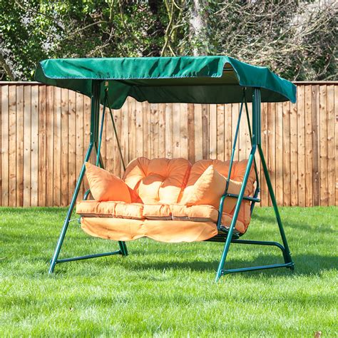 garden swing replacement cushions alfresia luxury garden swing seat cushions 2 seater ebay