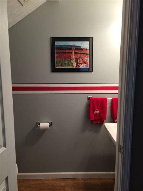 ohio state bathroom 17 best ideas about sports bathroom on pinterest baseball bathroom decor boys