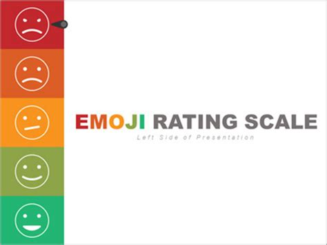 Left Side Emoji Rating Toolkit A Powerpoint Template From Presentermedia Com Emoji Powerpoint Template