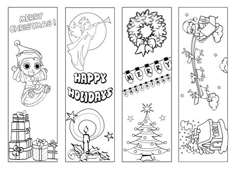 printable xmas bookmarks bookmarks beyond survival in a school library