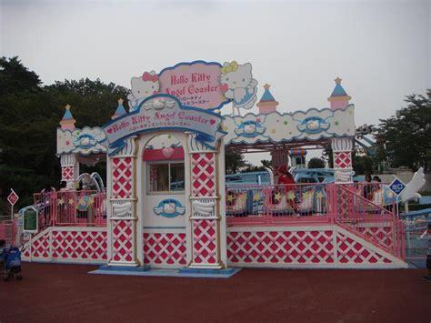 hello kitty theme park seibuen yuenchi hello kitty angel coaster