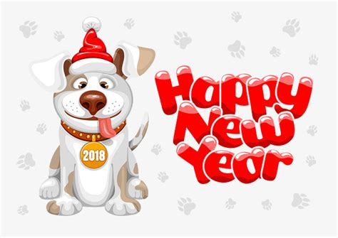 new year 2018 lucky 2018 year lucky png and vector for free