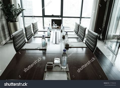 boardroom or board room business meeting room or board room interiors stock photo 417709249