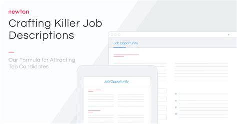 position description template newtons job description job description template newton software