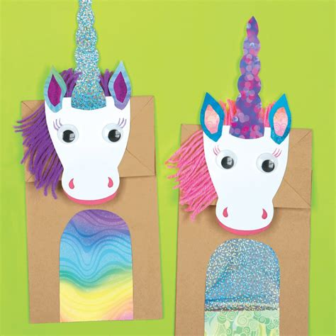 Paper Bag Arts And Crafts For - magical unicorns paper bag craft kit e me 3