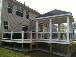 Screened Porches custom deck and gazebo welcome home decks