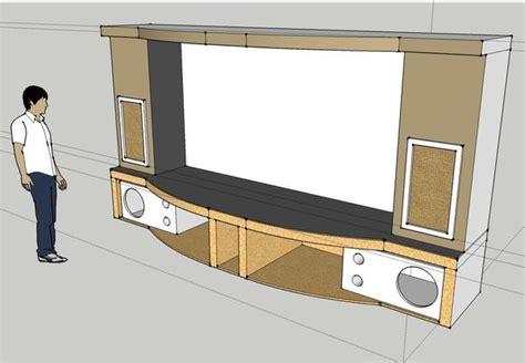 home theater subwoofer enclosure design design  ideas