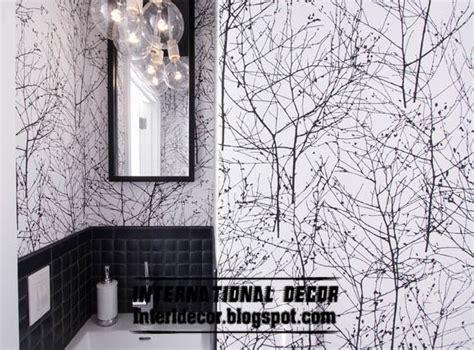 black and white interior wallpaper black and white wallpaper in the interior