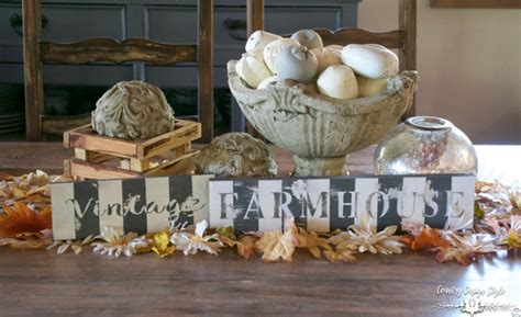 country style table runners diy fall table runner country design style