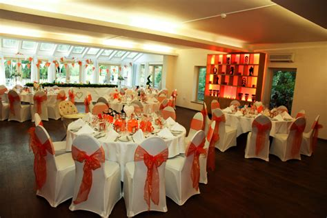 gemma michael s orange ivory wedding at the great hallingbury manor in essex confetti co uk