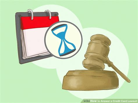 Sle Credit Card Lawsuit Answer how to answer a credit card lawsuit with pictures wikihow