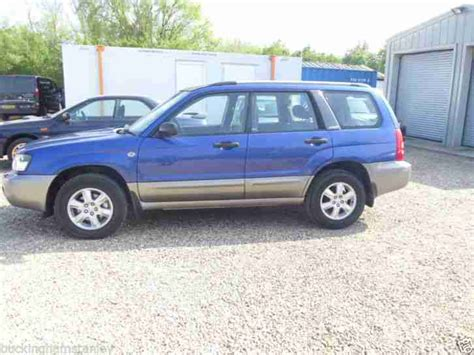 blue subaru forester 2003 subaru 2003 forester x all weather blue great condition no