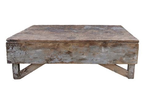 Antique Plank Farmhouse Coffee Table Bench Vintage Coffee Coffee End Tables