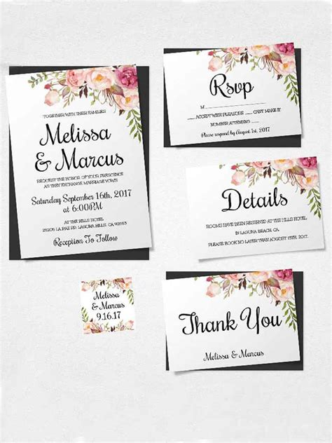 21 wedding invitation wording examples to make your own brides