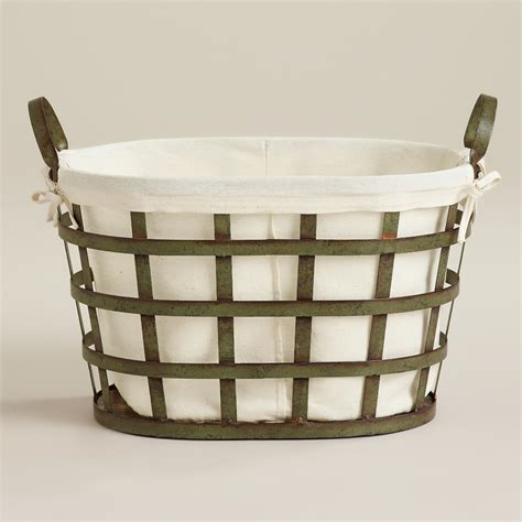 Skyler Metal Laundry Basket World Market Metal Laundry