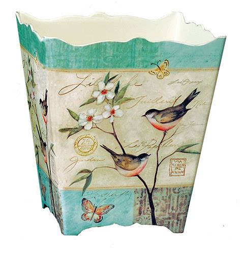 Decoupage Trash Can - 57 best vintage trash images on basket
