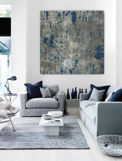 770gkp01 Kemeja White Abstrac Navy wall large abstract painting teal blue navy grey gray