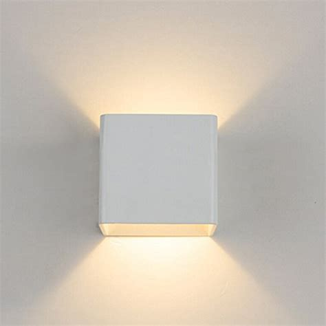 granfo illuminazione topmo 2 pezzi 7 w led da parete bianco lade da