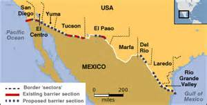 map of california mexico border mapping the material surplus along the us mexico border