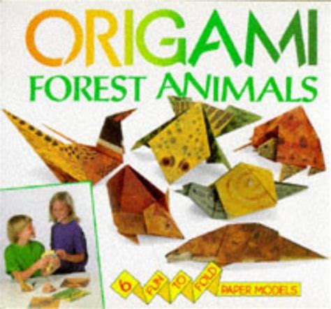 Origami Forest Animals - used gd forest animals origami by david
