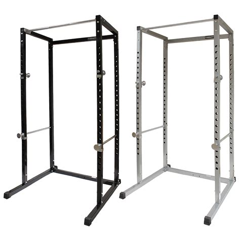 mirafit power cage squat rack pull up bar multi gym