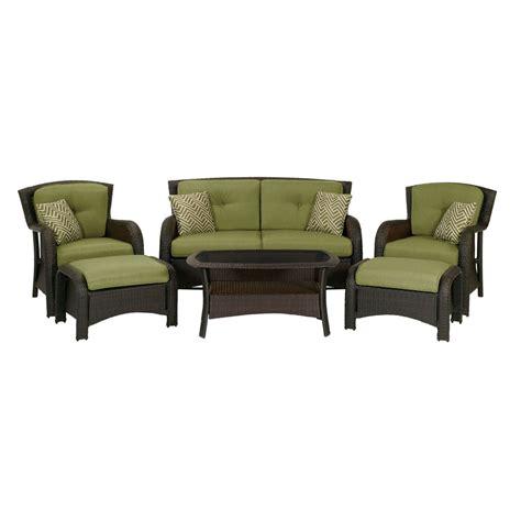 Shop Hanover Outdoor Furniture Strathmere 6 Piece Wicker