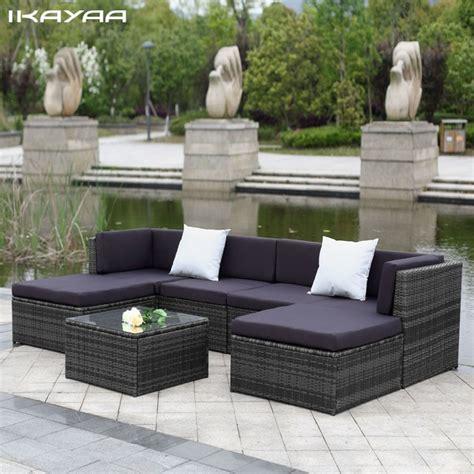 meuble patio rotin ikayaa nous stock patio meubles de jardin canap 233 ensemble