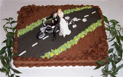 groom s cake lots of options exclusively weddings blog motorcycle bride groom bettycake s photo blog and