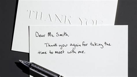 thank you letter after don t want the thank you letter after tips exle for