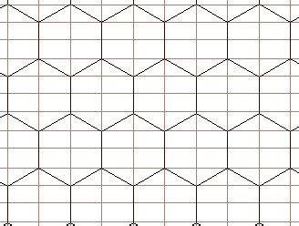 grid pattern generator project hex part 2 twenty sided