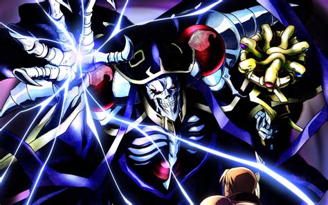 anime like overlord ainz ooal gown full hd wallpaper and background